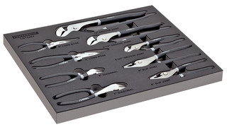 8 Pc. Professional Mechanics Pliers Set, No. 949023