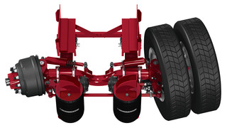 Hendrickson introduces ToughLift round tube axle platform