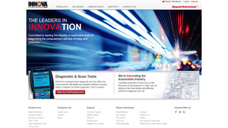Innova website offers ready access to diagnostic tools