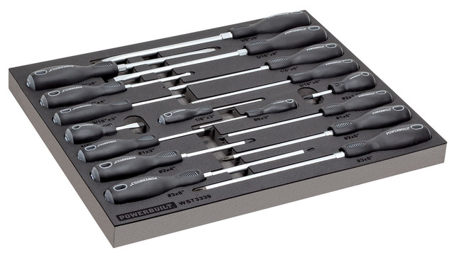 17 Pc. Master Screwdriver Set, No. 949018