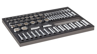 70-pc 1/4, 3/8, 1/2 Dr. Master Socket Set, No. 949007