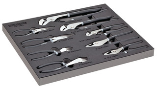 8 Pc. Professional Mechanics Pliers Set, No. 949023