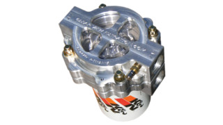 See Through Oil Filter Assembly