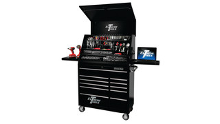 41 Extreme Deluxe Portable Workstation and Roller Cabinet Combination No. PWSRC4129TX