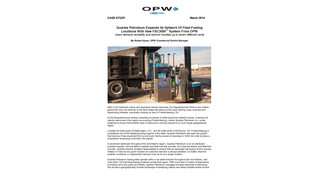 Quarles Petroleum expands its network of fleet-fueling locations with new FSC3000 system from OPW