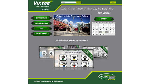 Victor Technologies provides training website for welding