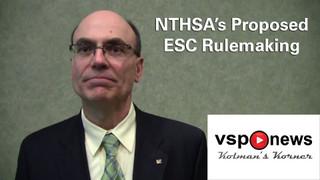 VSP News: Kolman's Korner, Episode 54 - NHTSA's proposed ESC rulemaking