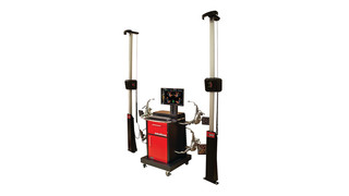 John Bean wheel alignment system has new technology