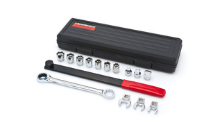 15-Piece Ratcheting Serpentine Belt Tool Set, No. 3680D