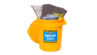 PIG Spill Kit in High Visibility Economy Container