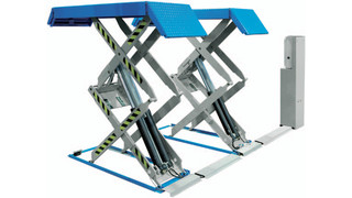U Series double scissor lifts, Nos. 535 and 540