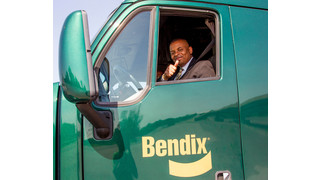 Government and industry leaders participate in Bendix advanced safety technologies demo
