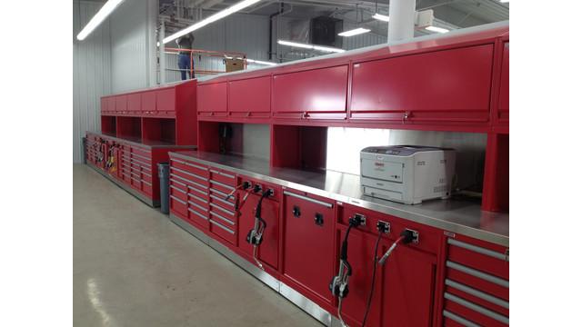 Big-Time Boxes: Shop renovation includes a modular storage innovation