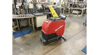 MicroMag FC 1 walk-behind floor scrubber