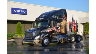 Volvo Trucks honors military heroes with 2014 Ride for Freedom truck