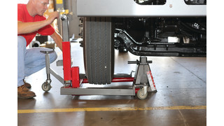 Equipment to assist with tire maintenance