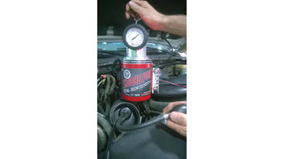 How to find vacuum leaks on a flex fuel vehicle