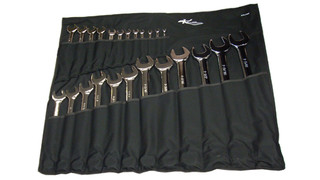24-pc Professional Series Combination Fractional Wrench Set