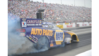 NAPA Funny Car puts Carlyle Hand Tools to the test