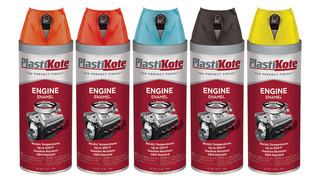 PlastiKote Engine Enamel Paint withstands extreme heat