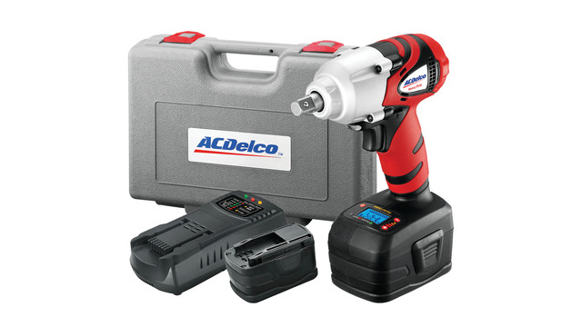 Tool Review: ACDelco Li-ion 18V Impact Wrench