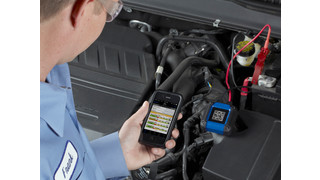 OTC releases handheld battery tester, using iOS or Android device to test battery in minutes