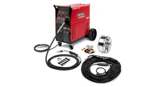 Aluminum MIG push-pull welding system packages