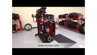 Hunter Engineering Revolution Tire Changer Video
