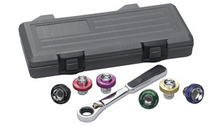 7-piece Magnetic Oil Drain Plug Socket Set