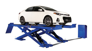 New Forward Lift ML11 scissor lift offers versatility in a compact package