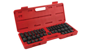 38-pc Professional Grade Socket Set