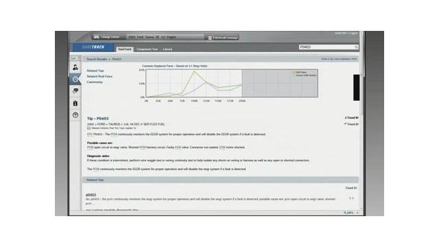 SureTrack Repair Information Resource Demo Video