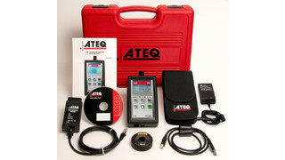 ATEQ offers software update for VT55 OBDII TPMS tool
