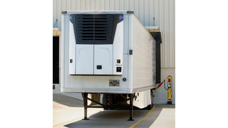 Transicold Engineless Vector 8100 all-electric trailer refrigeration unit