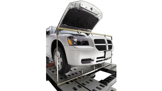 Measure an entire vehicle for better repairs with the Chief LaserLock Upper Body Bar