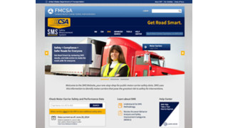 FMCSA announces improved display of data on SMS website