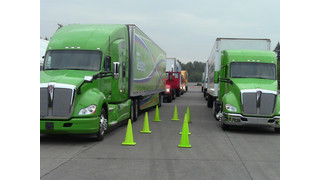 Kenworth ride and drive event