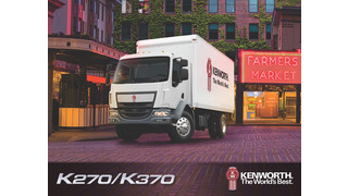Kenworth releases K270 and K370 cabover brochure