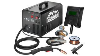120-amp commercial portable MIG welder, No. MTNMIG6120