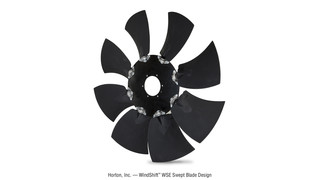 WindShift WSE fan blade