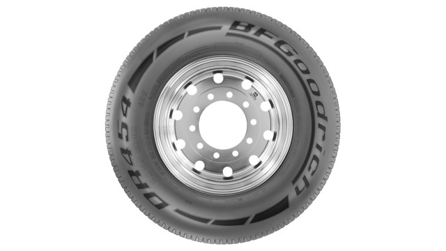 SmartWay verified highway drive tire, No. DR454