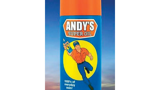 Andy's Super Oil multi-purpose maintenance product and spray lubricant