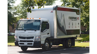 Mitsubishi Fuso Canter FE130 now available with a Supreme FiberPanel (HC) HoneyComb dry van body