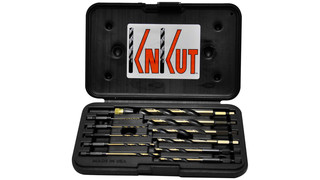 KnKut 12pc Quick Release Drill Bit Set