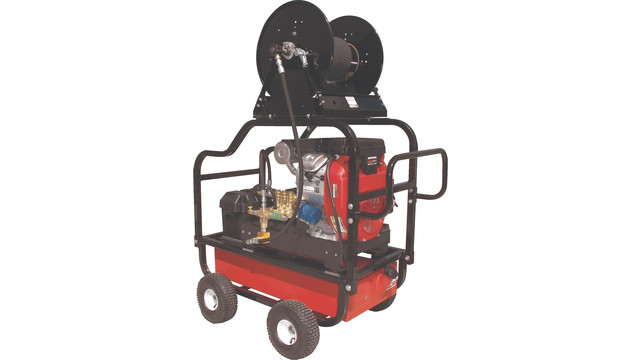 Continuous Duty Pressure Washers