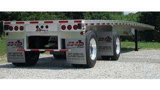 Aluminum Platform trailers