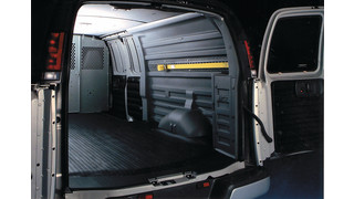 Durakon van panels and bulkhead divider