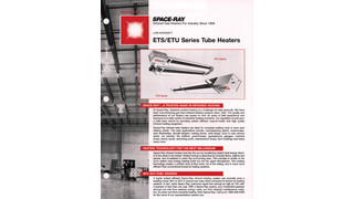 ETS/ETU Series Tube Heaters catalog