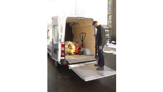 External Sprinter Van Lift Gate