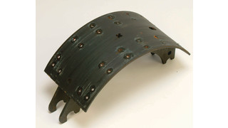 Haldex Brake Shoe Coating